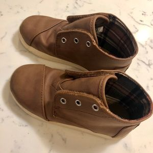 Toms Kids Boots Size 10